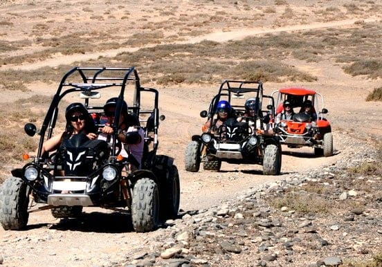 Quad and buggy expedition tour in Costa Calma