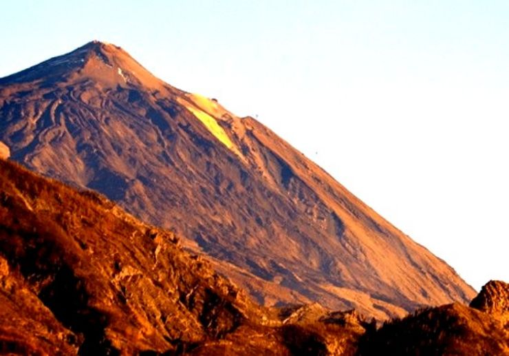 See Teide from a helicopter tour Tenerife