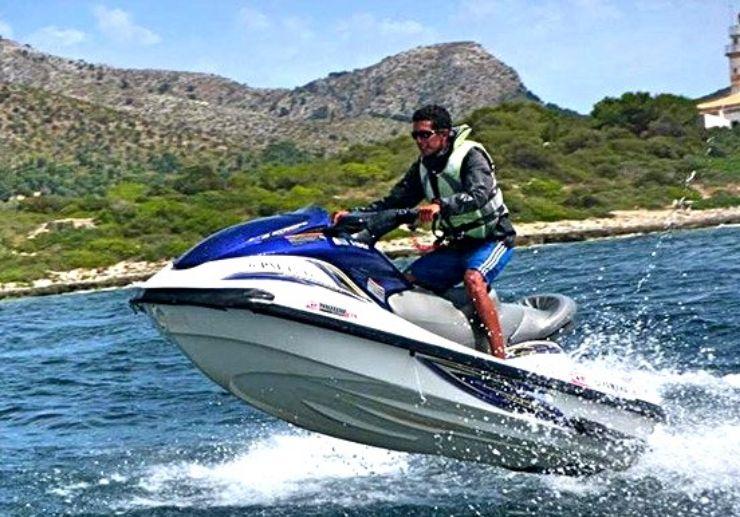 Alcudia beach jet ski excursion in Mallorca