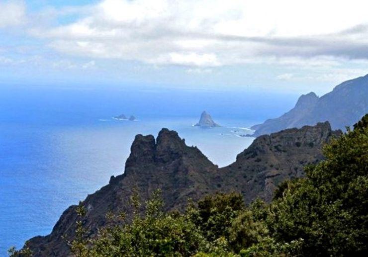 Hiking Taborno route Anaga Tenerife