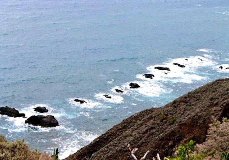Tenerife coastal view from the Anaga mountains