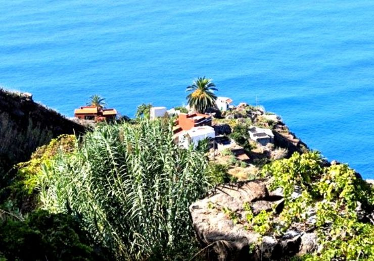 Tenerife sea coast view from Anaga mountains