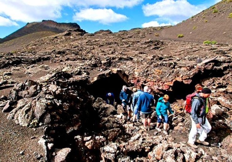Lanzarote hiking tour volcano route