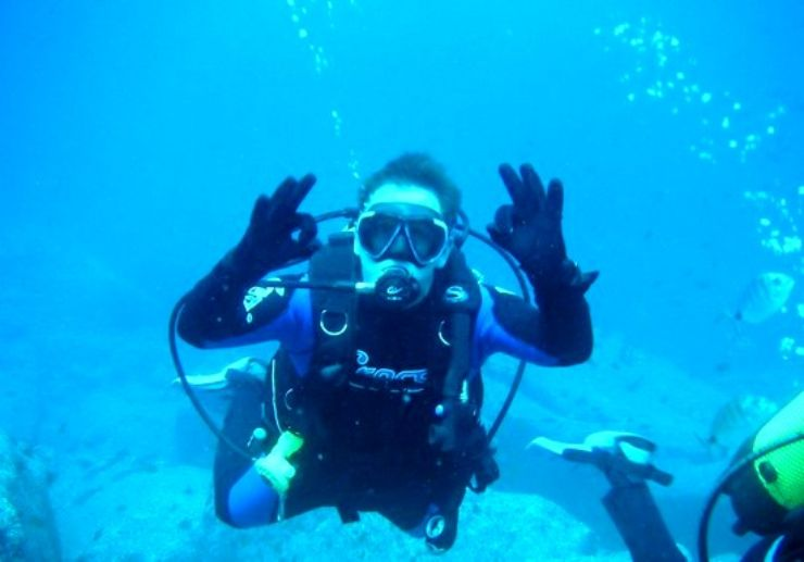 PADI open water course in Puerto de la Cruz