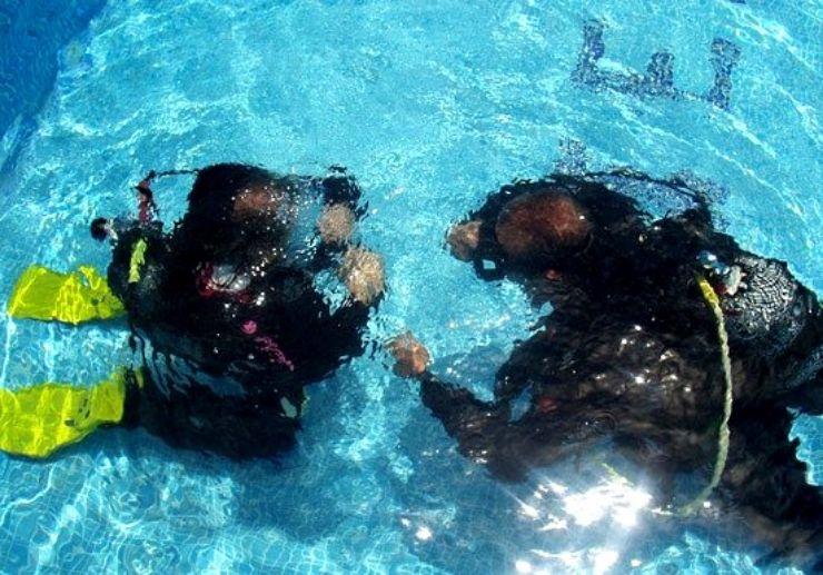 PADI open water course in Tenerife