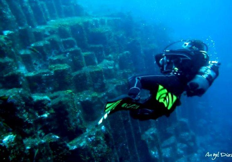 Diving excursion around Tenerife island
