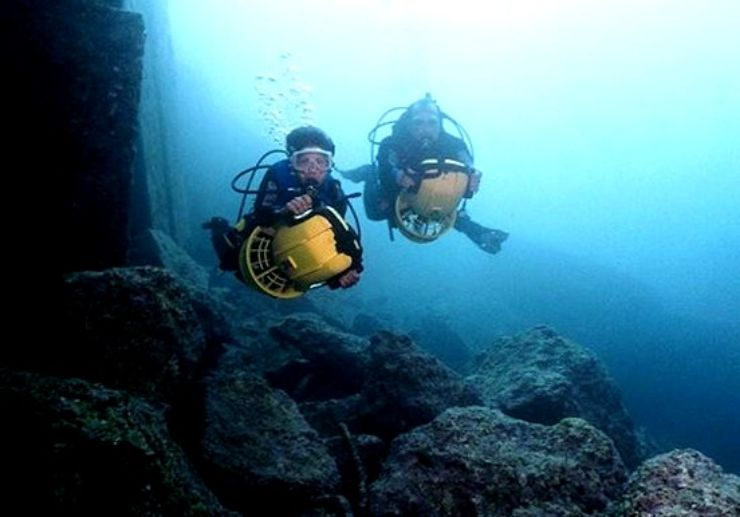 Diving excursion in Tenerife