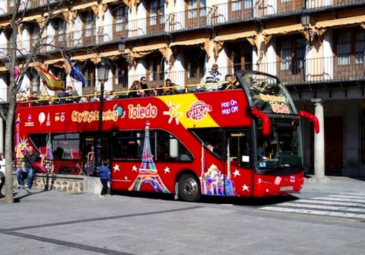 City sightseeing tour Toledo hop on hop off