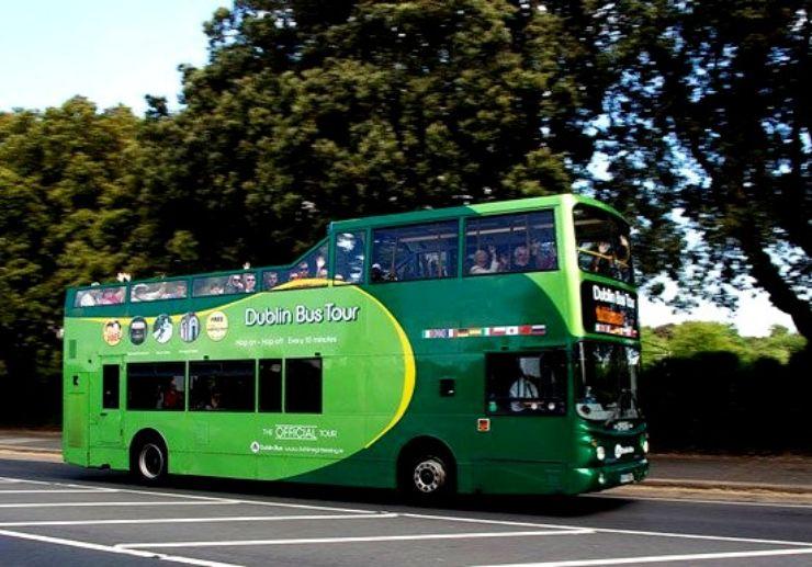 Dublin hop-on and hop-off bus tour
