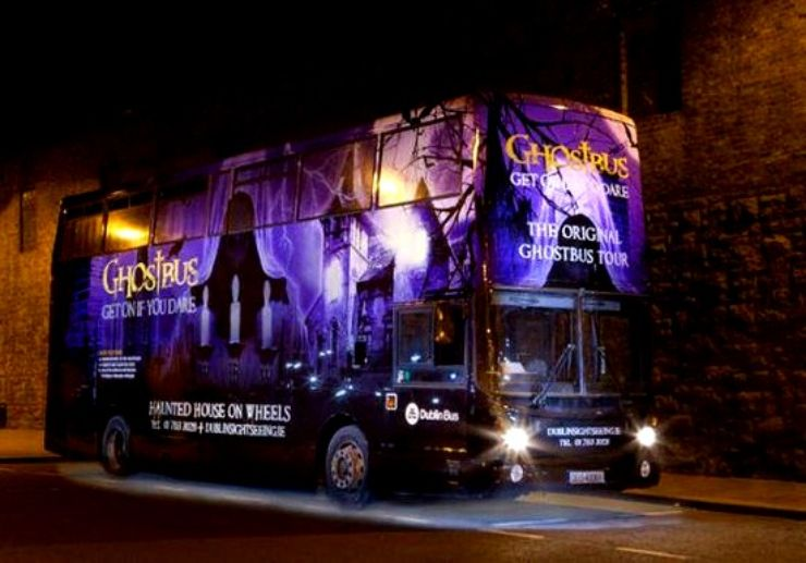Get on if you dare - The Ghostbus Tour