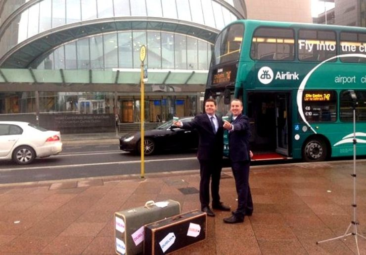 Airlink Airport Express transfer in Dublin