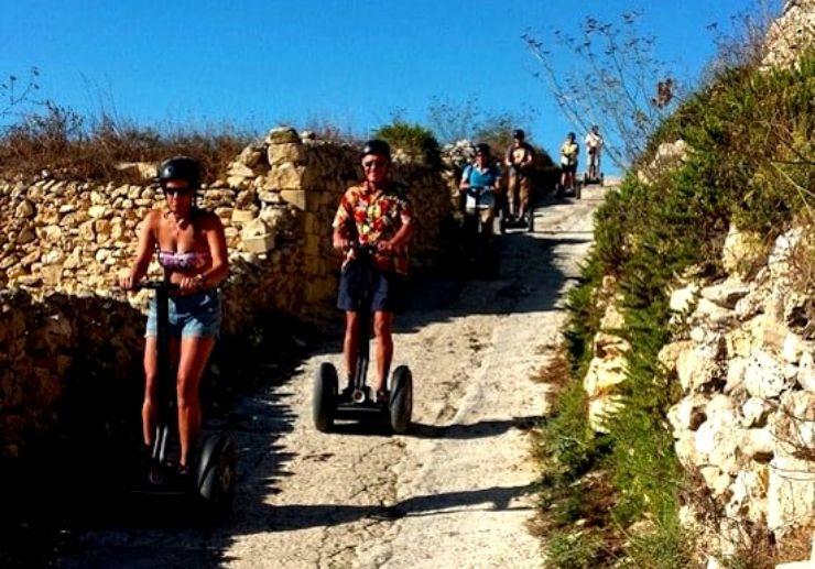 Munxar and Sanap Cliffs segway adventure
