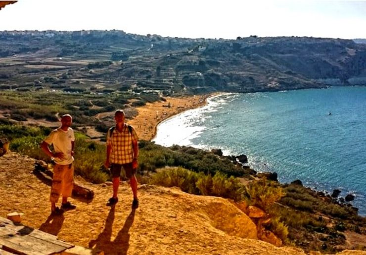 Gozo segway tour cross country