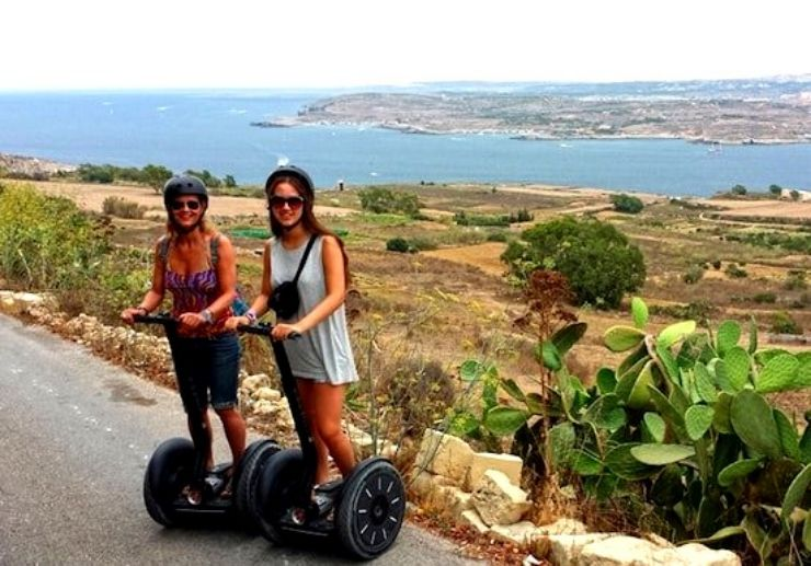 Guided Segway tour in Gozo island
