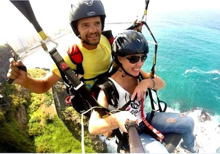 Puerto de la Cruz paragliding excursion