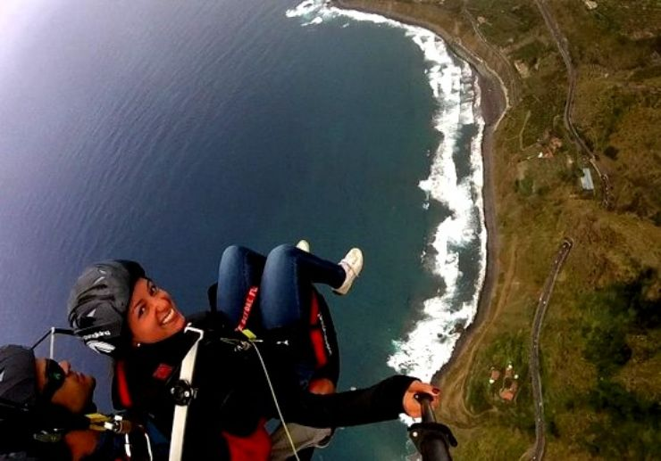 Paragliding from La Corona to Socorro beach