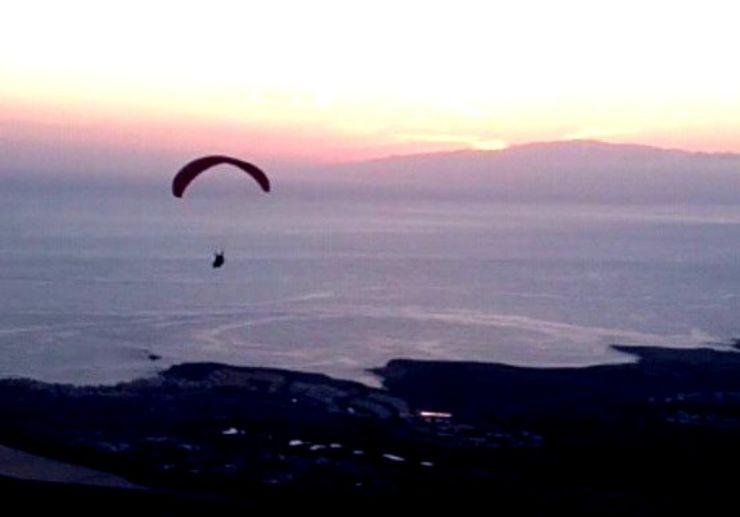 Paragliding Jama San Lorenzo in Tenerife