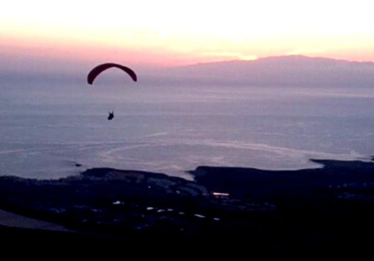 Paragliding Ifonche to Adeje Tenerife