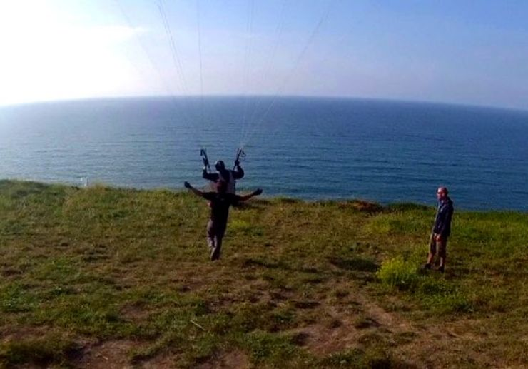 Learn paragliding basics in Tenerife