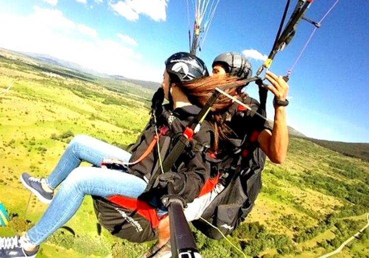 Year round paragliding in Tenerife