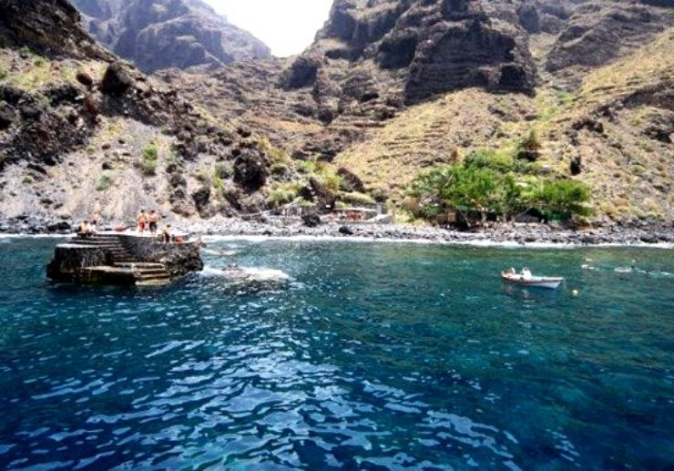 Masca hiking and boat ride in Tenerife