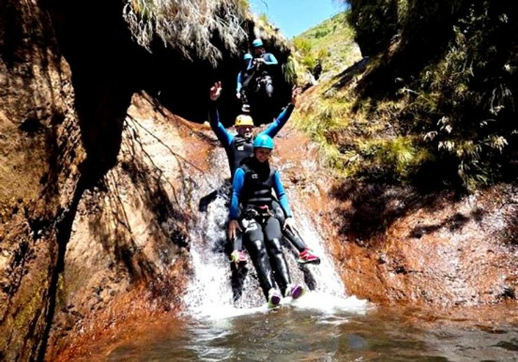 Canyoning and abseiling in Madeira