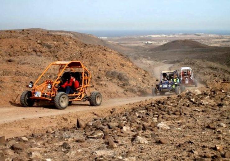 Caleta de Fuste quad and buggy adventure