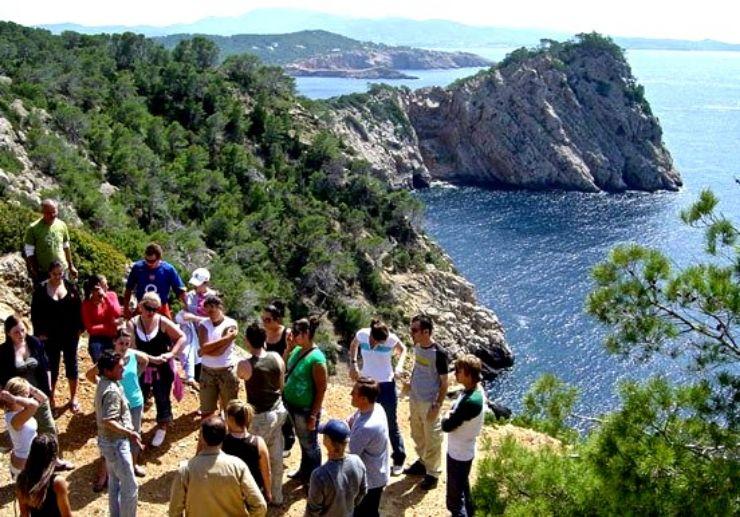 Jeep safari tour explore Ibiza coastline