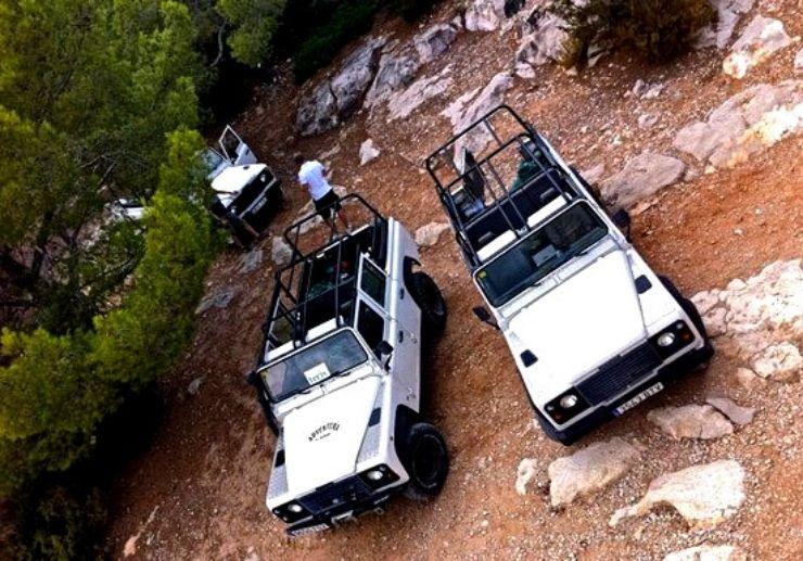 Jeep safari adventure in Ibiza