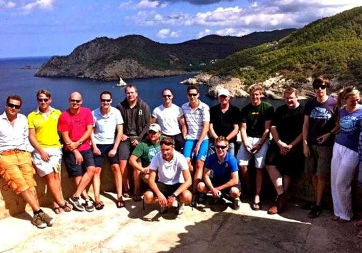 Jeep safari tour group fun