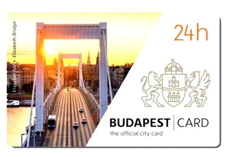 Budapest City Card 24h