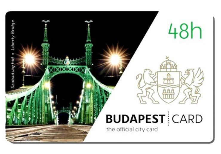 Budapest City Card 48h