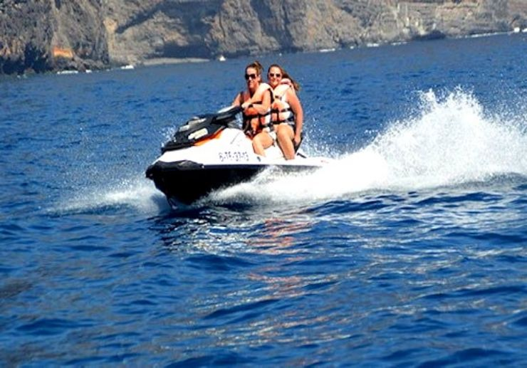 Discover Tenerife coast on jet bike safari