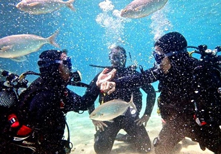 Discover scuba diving in Puerto del Carmen