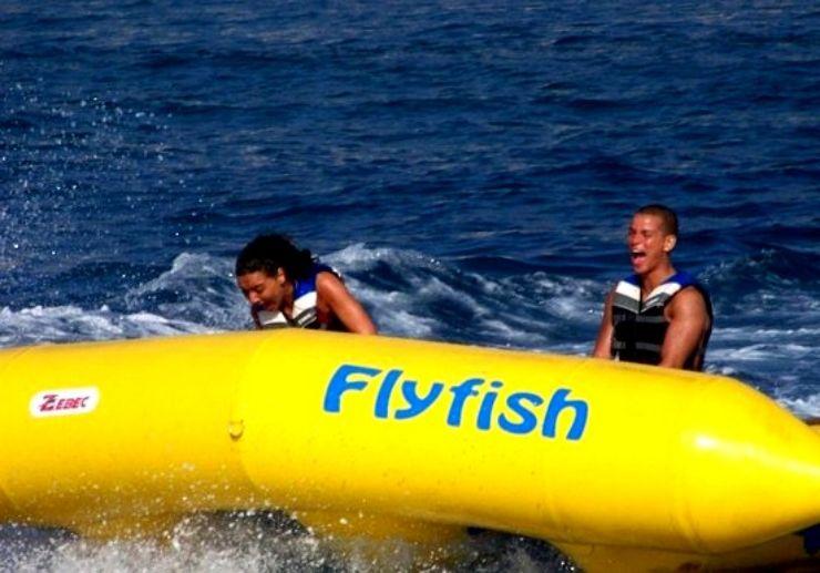fun fly fish ride in Tenerife