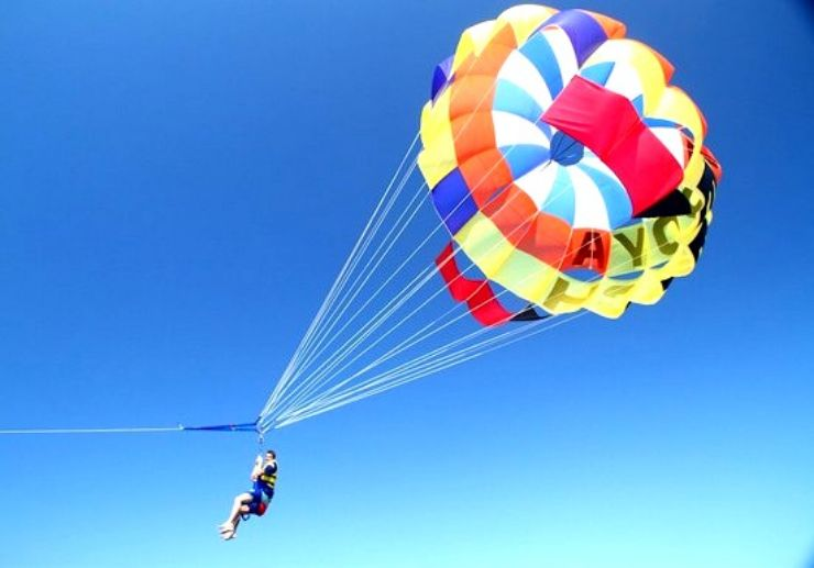Enjoy parascending, jetski and fly fish in Tenerife