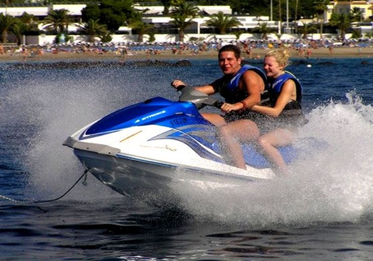 Jet ski combo watersports in Tenerife