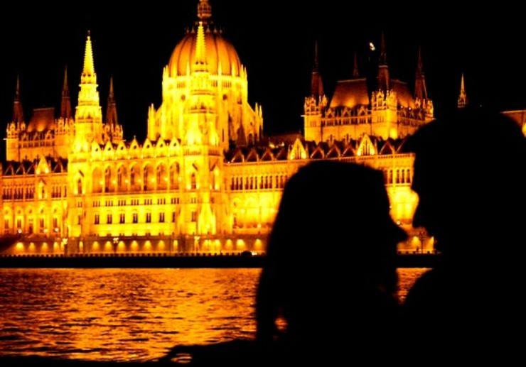 Cruise on the Danube river in Budapest