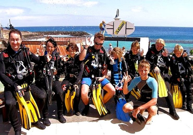 Learn diving in Costa Teguise Lanzarote