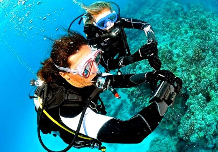 Lanzarote Open water diving course