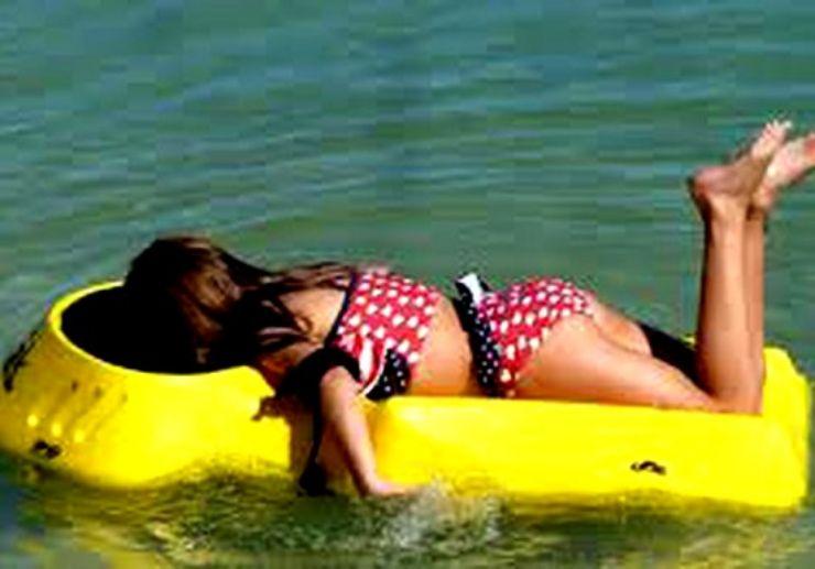 Glass bottom snorkel in Lanzarote