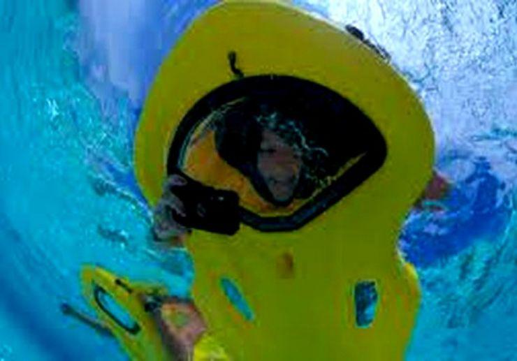 Glass bottom snorkel Puerto del Carmen