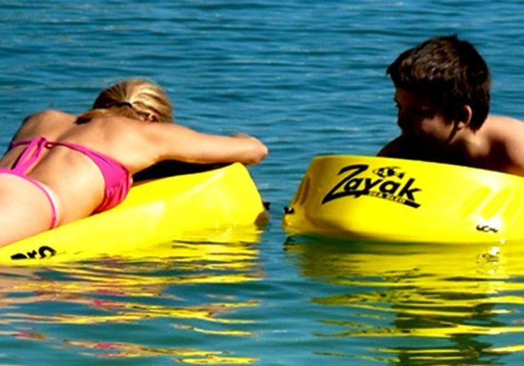 Lanzarote glass bottom snorkelling