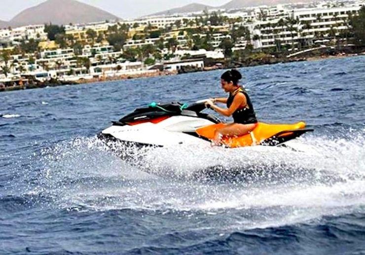 Jetski circuit ride Puerto del Carmen