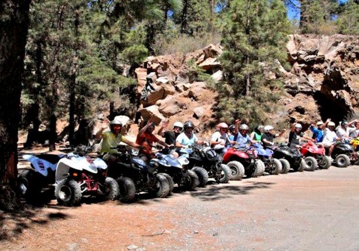 Exciting Quad bike safari tour Tenerife