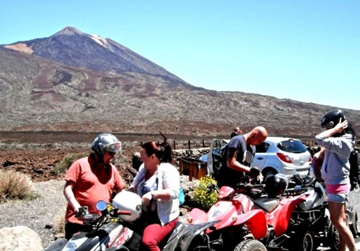 Amazing quad safari tour to Teide