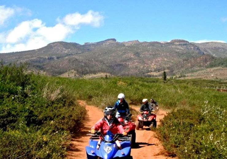 Beautiful scenery on quad safari tour Tenerife