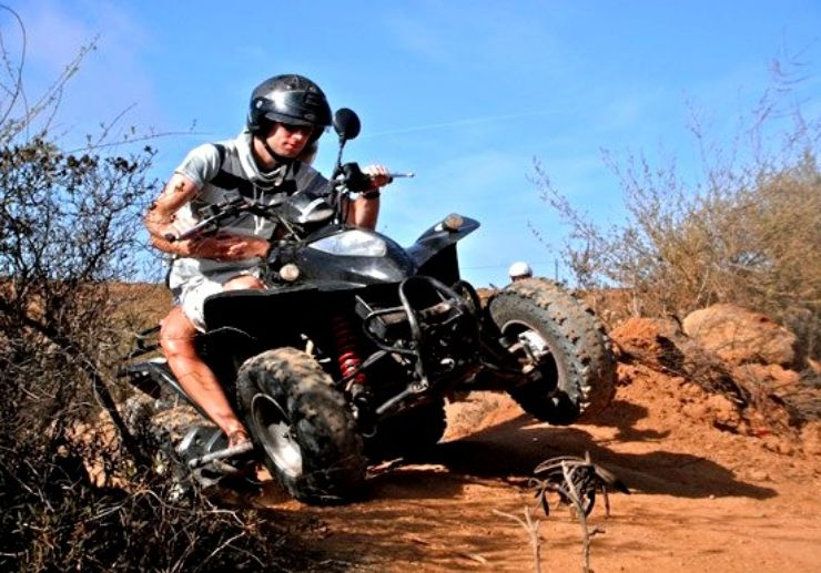 Quad bike safari Tenerife
