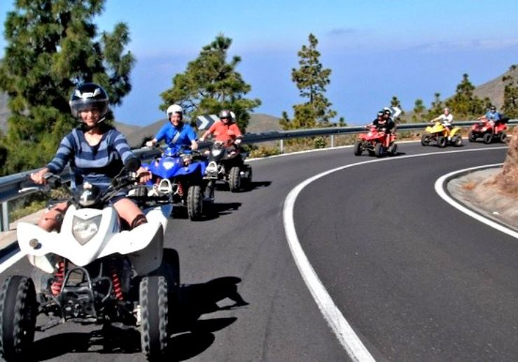 Quad safari Teide tour