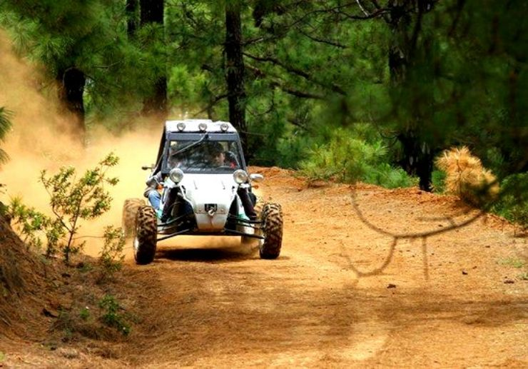 Discover La Palma on a buggy tour